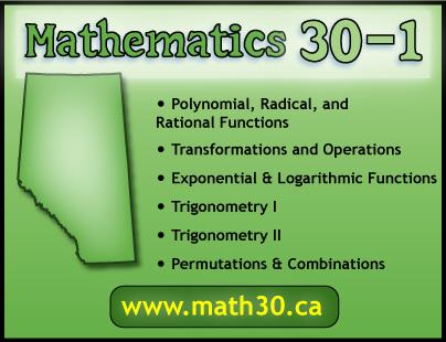 Math 30-1